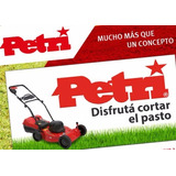 Maquina De Cortar Cesped 1hp C/regul.+ Bordeadora Petri 400w