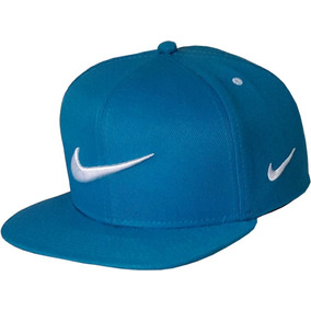 Bone Nike Sb Azul Aba Reta Aba Quadrada Snapback
