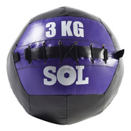 Pelota Con Peso Funcional Medicine Ball 3 Kg Sport Maniac