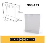 Caja De Acetato Pvc Transparentes 17 X 17 X 4 Cm (x20)