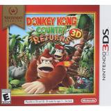 Donkey Kong Country Returns 3d Nuevo Sellado Nintendo 3ds