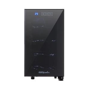 Adega De Vinho Termoelétrica Easy Cooler Preto 127v Com Ca