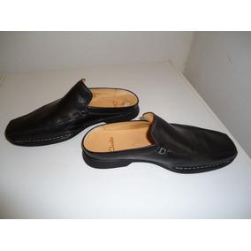Zapato Clarks Suecos Negro De Hombre Talla 40 (7 Y Medio Uk)