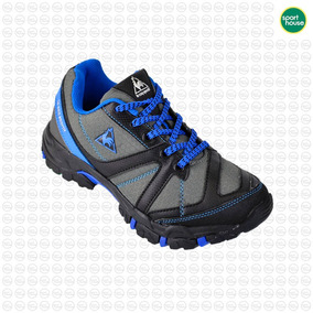 Zapatilla Niños Lecoq Sportif Scalaire Trekking Grs/azu