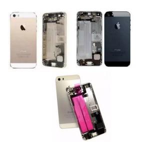 Carcaça Completa Tampa Traseira Com Flex Iphone 5 5g 5s Orig