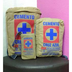 Kit Escolar Morralitos Cemento Cruz Azul Beige
