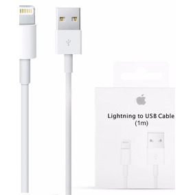 Cable Cargador Iphone 5 6s 7 7 Plus Ipad Lightning Original