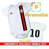 Body Infantil Personalizado Camisa Do Flamengo Com Nome!