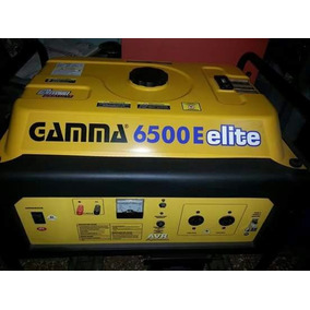 Grupo Electrogeno Gamma 6500 Con Ruedas