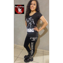 Leggin Scorpions, Ropa Rockera, Metalera, Luna Alterna Shop