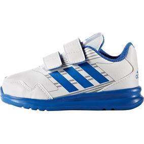Tenis adidas Altarun Blanco/azul 100% Original Ba9413