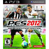 Pes 2012 Ps3 Fisico Excelente Estado!!!