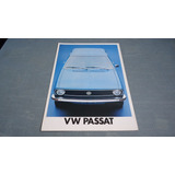Folder Brochura Vw Passat 1976 Ts L Ls