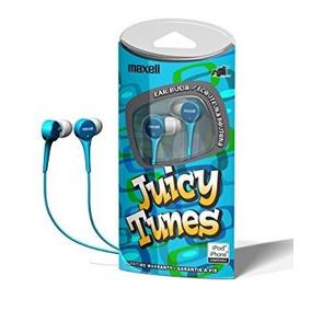 Audífono Ipod Y Iphone Juicy Tunes Maxell