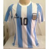 Argentina Retro 1986  10 Maradona - Tamanho M - P. Entrega dc7f9a9dbc228