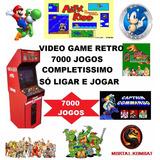 Kit 7000 Jogos Pronto Para Usar Retro Game Street Fighter