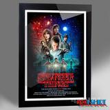 Cuadro Poster Stranger Things Volver Al Futuro Back To Futur