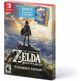 The Legend Of Zelda Breath Of The Wild Ed Explorer Switch