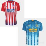 2a57c61962 Camisa Do Atletico De Madrid Azul Griezmann no Mercado Livre Brasil