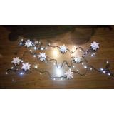 Estrellas En Pergamino Para Luces De Navidad