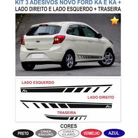 Acessorios Ford Novo Ka G3 Adesivos Laterais E Traseiro Kit2