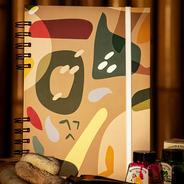 Cuaderno Anillado A5 Piedras - 80 Hojas
