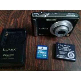 Camara Lumix 10 Megapixel Para Repuesto Con Accesorio. Usada