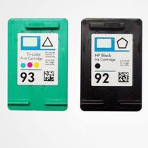 Par Cartucho Hp 92 + 93 Para Impressoras 1510 C3180 C4180 S