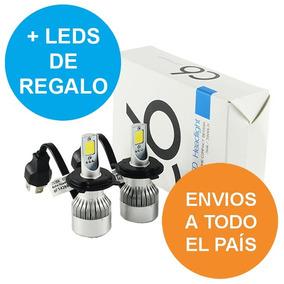Kit Luces Bi Cree Led H4 Alta Y Baja 16.000 Lumens No Xenón