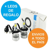 Kit Luces Bi Cree Led H4 Alta Y Baja 16.000 Lumens No Xenón