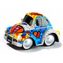 Escultura Decorativa Romero Britto - Mini Fusca Beetle 3d