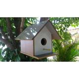 Casa Para Passarinho Colonial Pequena 022