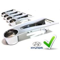 5 Apliques De Roda Hyundai I30 Capa Cromada 09,10,11,12 Cw