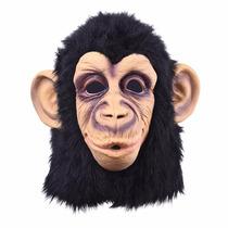 Máscara Festa Fantasia Macaco Monkey Latex Original Realista