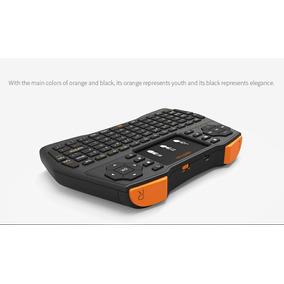 Teclado Bluetooth Tv Box Pc Con Luz Somos Tienda