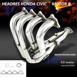 Headers Honda Civic 92 - 00 Motor B , Oferta
