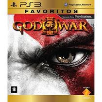 God Of War Iii Ps3 Favoritos Midia Fisica Lacrado