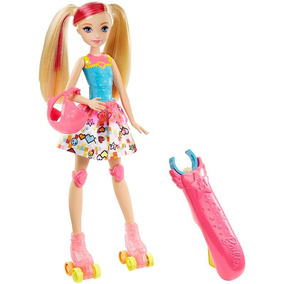 Barbie- Filme Barbie Patinadora De Video Game Mattel