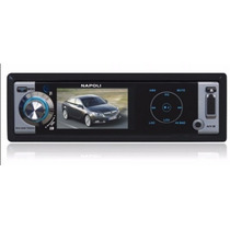 Napoli Dvd/ Mp4/ Usb/ Sd/ Dvd-9998 Touch 3 Na Caixa Original