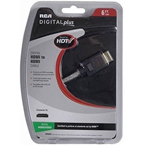 Rca 6 Ft Optical Cable With Halo Con
