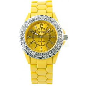 Reloj Con Cristales, Ocean Heart D12-13-72