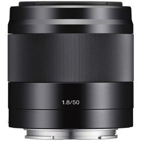 Lente Sony E 50mm F/1.8 Oss E-mount Aps-c Preta