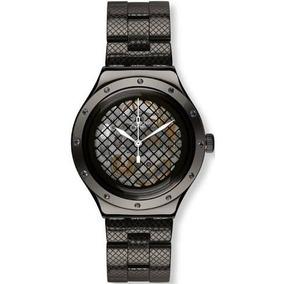 Reloj Swatch Swiss Quartzvatel Yab101g Black Mujer Original