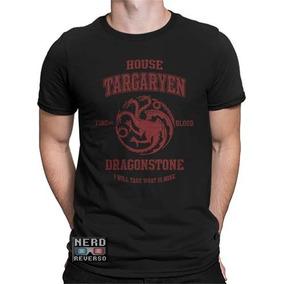 Camisa, Camiseta Targaryen Game Of Thrones Daenerys Visenya
