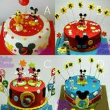 Tortas De Cumpleaños Infantil Mickey Mouse 100% Calidad