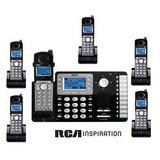 Central Inalambrica 2 Lineas Contestador 6 Handys Ampl 10 H