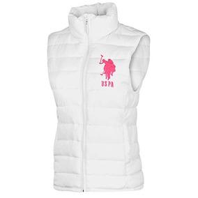 Chaleco De Mujer Polo Assn Oi 49337 Blanco