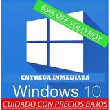 Windows 10 Pro 32/64 Bits Super Oferta. Hogar Y Empresa.