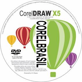Coreldraw X5 Português 32/64 Bits Manual Vetores E Fontes