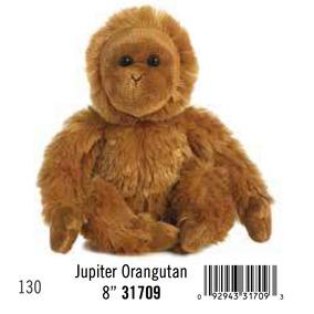 Orangutan Mono Bebe Peluche Aurora Juguete Flopsie 20 Cm